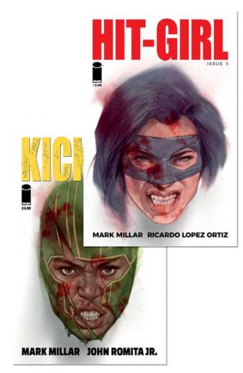 Hit Girl #1 & Kick Ass #1 (Ben Oliver Exclusive Edition)
