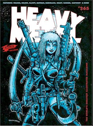 Heavy Metal #265 Jetpack Exclusive