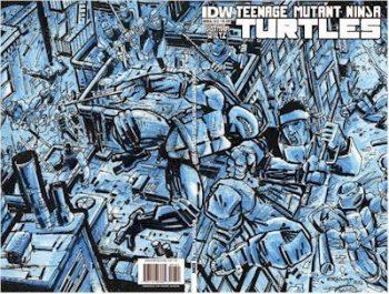 2012 TMNT Annual – Eastman Blue Print Edition