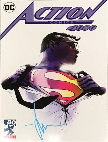 ACTION COMICS #1000 (SIGNED LIMITED EDITION EXCLUSIVE JOCK VARIANT)