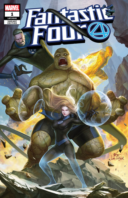 Fantastic Four #1 (Jetpack Exclusive Variant)