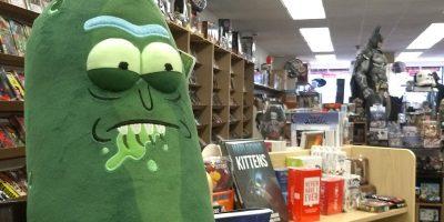 Pickle Rick At Jetpack Comics & Games