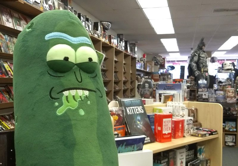 Pickle Rick At Jetpack Comics & Games