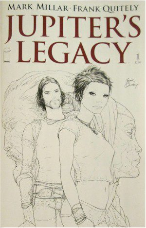Jupiter's Legacy #1 The Sketch Variant