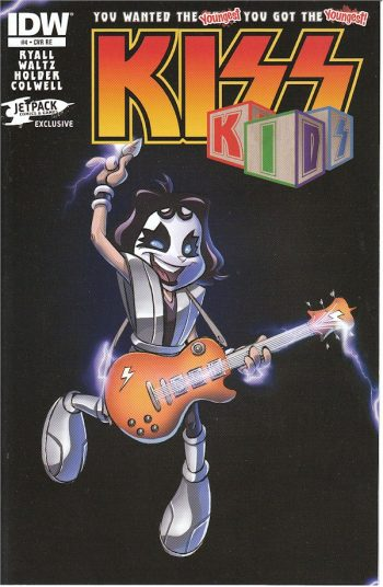 Kiss Kids #4 (Jetpack Edition)
