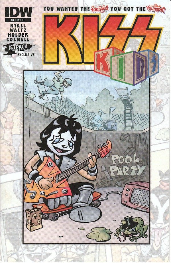 Kiss Kids #4 (Jetpack 250 Micro Print Edition)