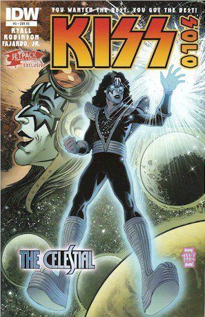 KISS SOLO #3 Jetpack Exclusive