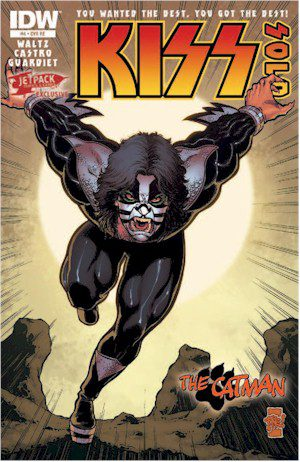 KISS SOLO #4 Jetpack Exclusive