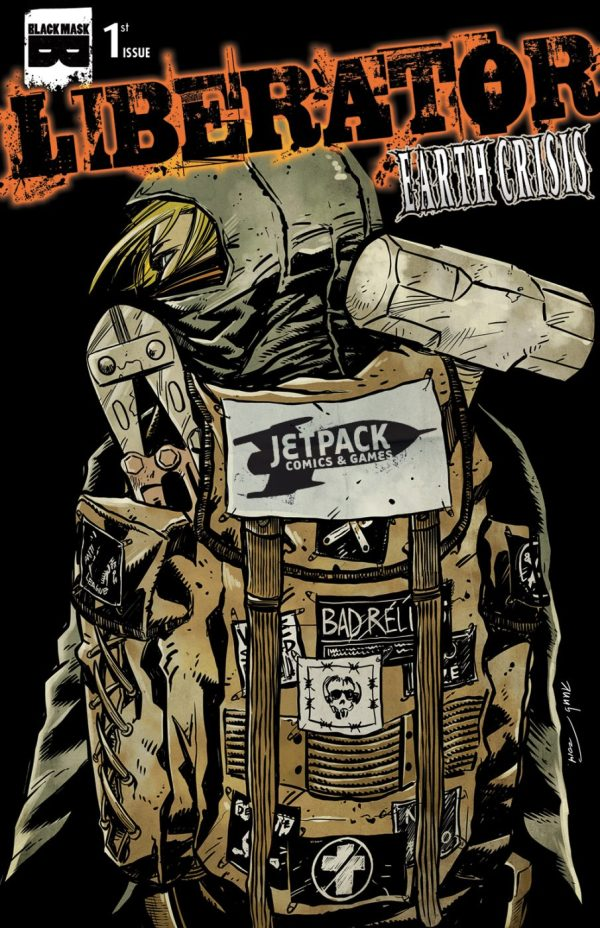 Liberators Earth Crisis #1 (Jetpack Edition)