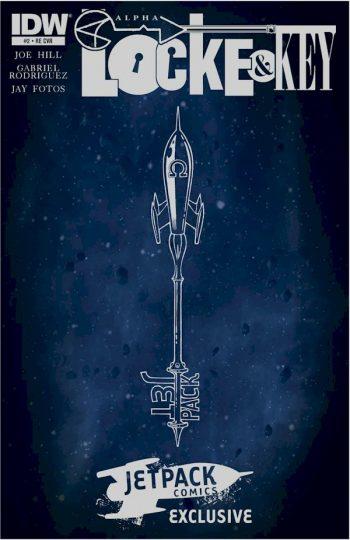 Locke & Key Alpha #2 (Jetpack Key Edition)
