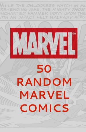 50 Random Marvel Comics