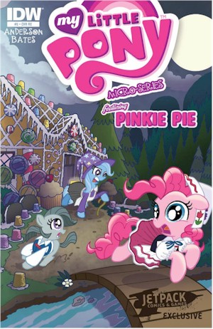 MLP Micro #5 – The Jetpack Edition Limited To Only 750 Copies