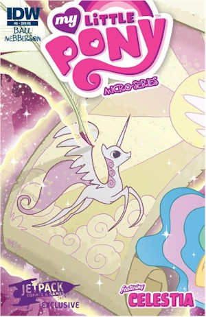 MLP Micro #8 – The Jetpack Edition Limited To Only 750 Copies