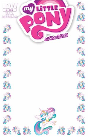 MLP Micro #8 (BLANK SKETCH Cover)