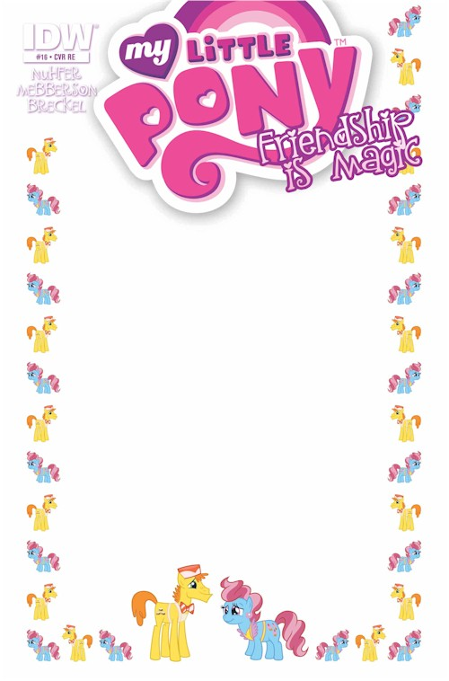 My Little Pony #16 (Blank Sketch Edition)