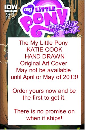 MLP #2 (1:50 Hand Drawn Cover)