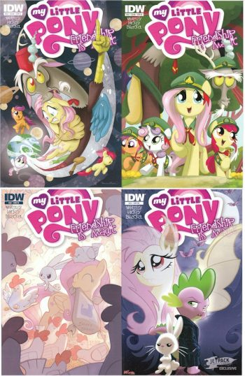 My Little Pony FiM #24 (A, B, RI, Jetpack Buffy Cover)
