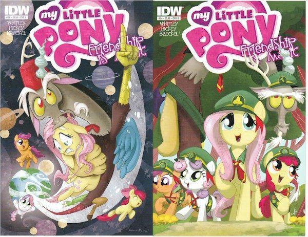 My Little Pony FiM #24 (A & B Covers)