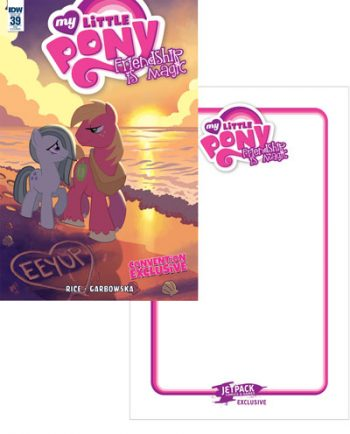 MY LITTLE PONY FIM #39 (JETPACK CONVENTION VARIANT)