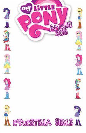 My Little Pony Friendship Is Magic Annual Equestria Girls (Jetpack B Blank Edition)