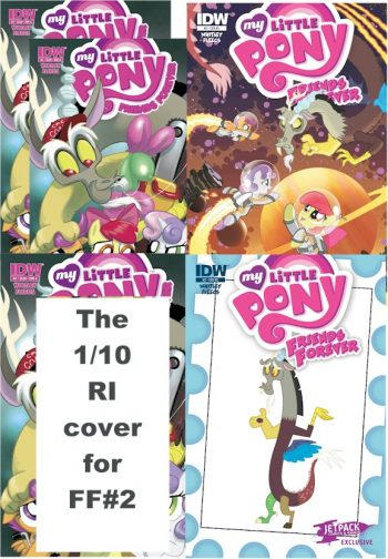 My Little Pony Friends Forever #2 (5 Pack)