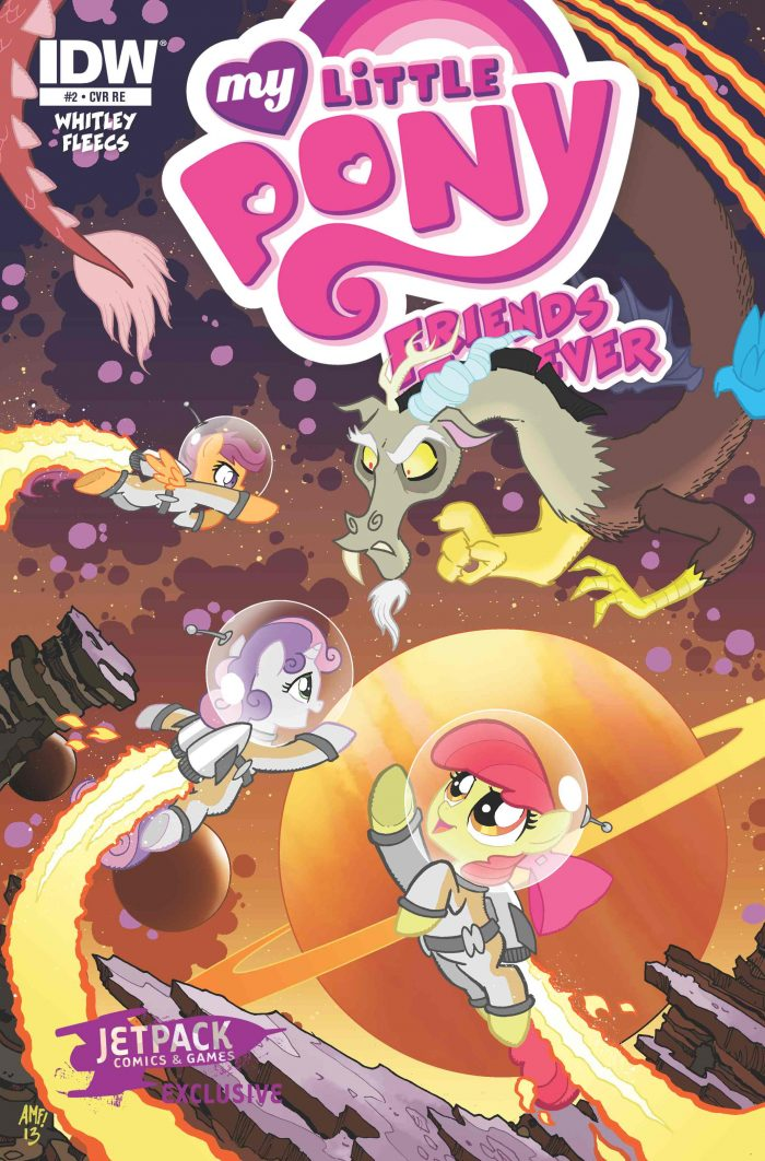 My Little Pony Friends Forever #2 (The Pony Jetpack Edition)