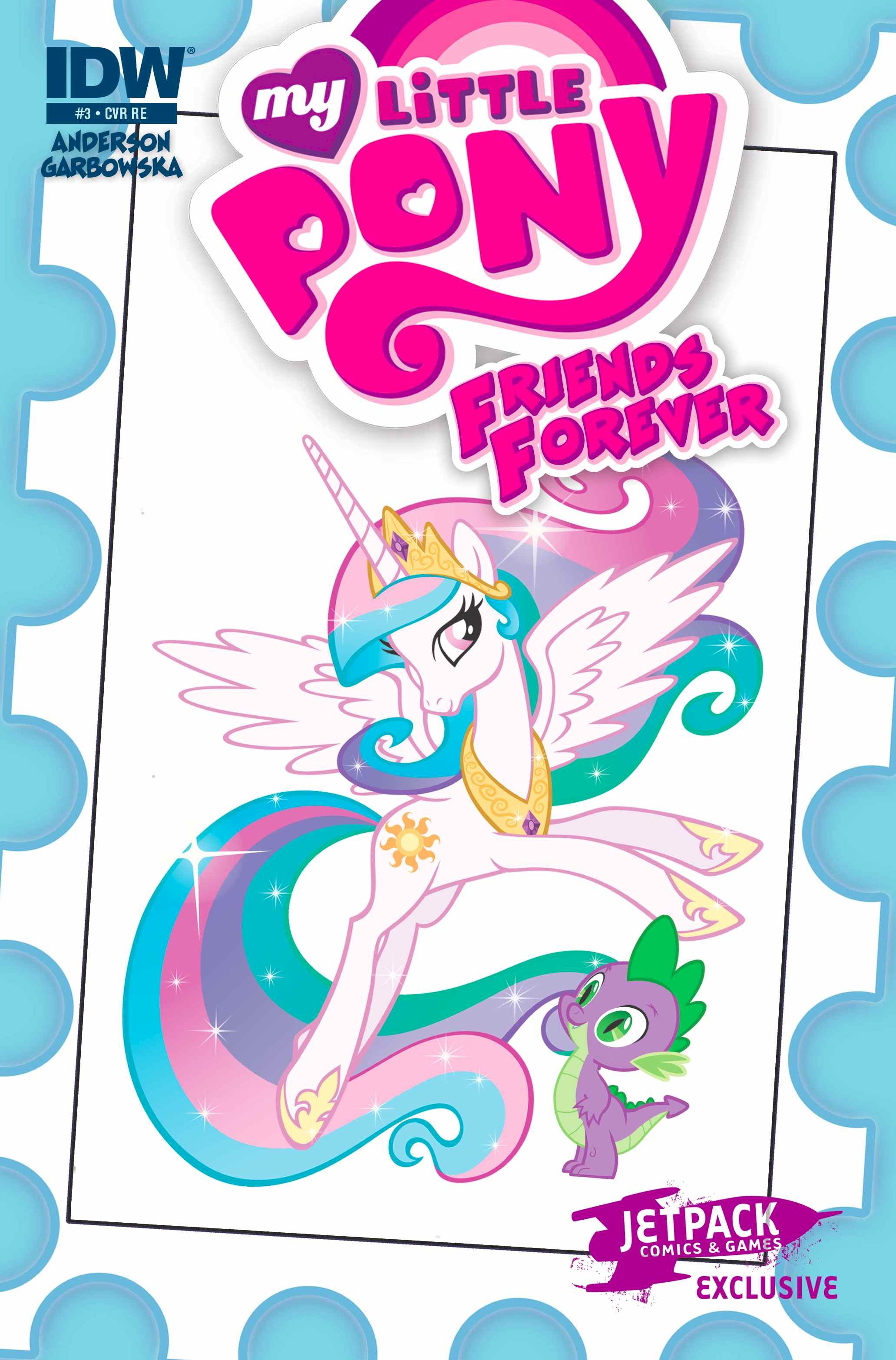 MY LITTLE PONY FRIENDS FOREVER #3 (Jetpack Comics B Micro Print Edition )