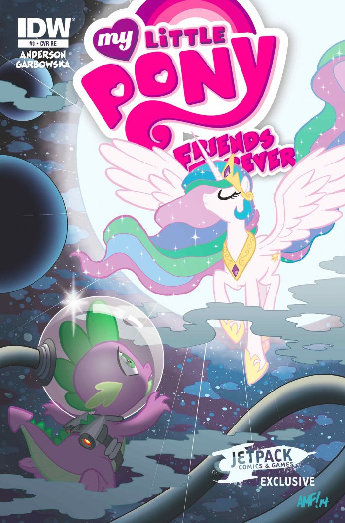 MY LITTLE PONY FRIENDS FOREVER #3 (Jetpack Comics A Limited edition)