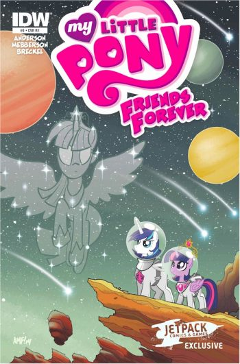 My Little Pony Friends Forever #4 (Jetpack Exclusive A )