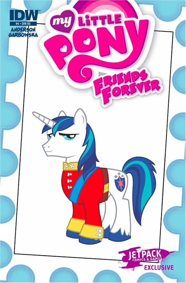 My Little Pony Friends Forever #4 (Jetpack Exclusive B)