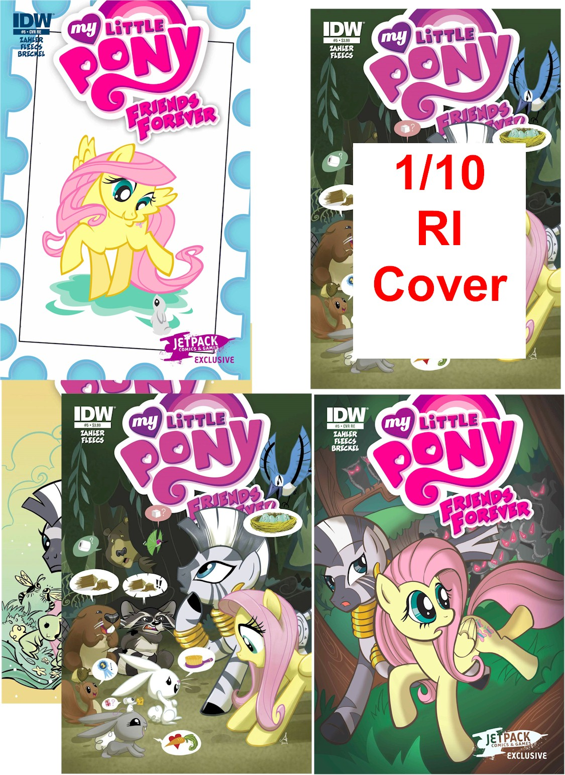 MY LITTLE PONY FRIENDS FOREVER #5 (5 PACK)