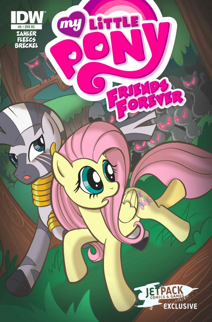 My Little Pony Friends Forever #5 (Jetpack Exclusive A )