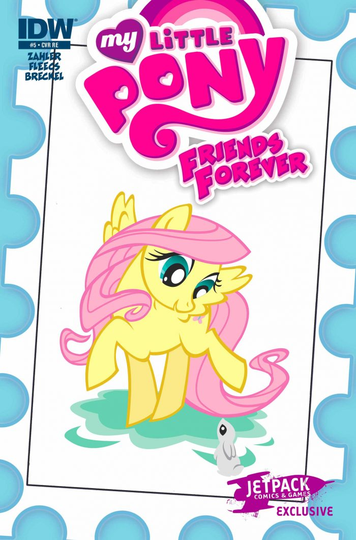 My Little Pony Friends Forever #5 (Jetpack Exclusive B)