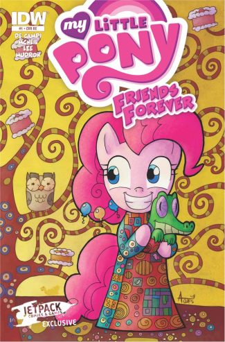 My Little Pony Friends Forever #1 (Jetpack Edition)