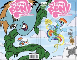 MLP Micro Series #2 – The Artists Roughs Shared Edition