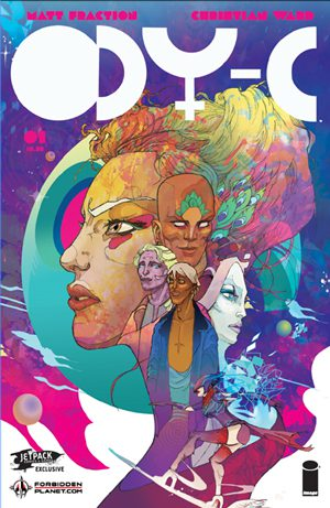 ODYC #1 (Forbidden Planet / Jetpack Variant)