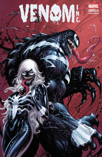 Venom Omega (Tyler Kirkham Limited Edition Exclusive – B Cover)