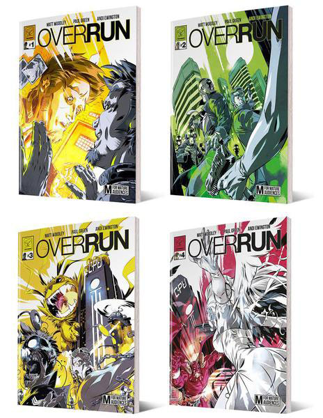 Overrun 1-4 (Jetpack Exclusive)