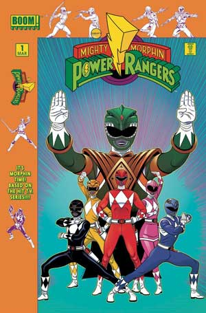 Power Rangers #1 (Launch Party Variant)