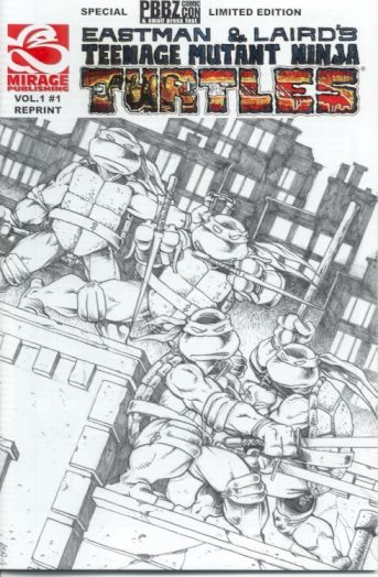TMNT #1 The PBBZ Edition MIRAGE 2005