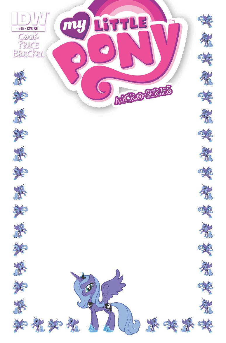 MLP MICRO SERIES #10 LUNA (BLANK COVER)