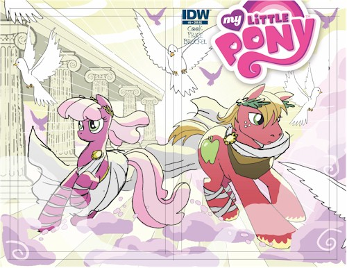 MLP #9 (The Artists Roughs Shared Edition)