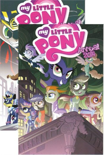 2x 2014 MLP Annual (regular Cover & RI 1/10 Cover)