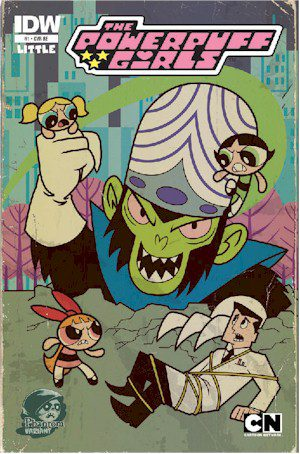 Power Puff Girls #1 The Phantom Edition