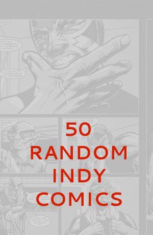50 Random Indy Comics