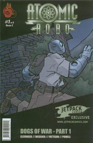 Atomic Robo Dogs Of War #1 Jetpack Exclusive
