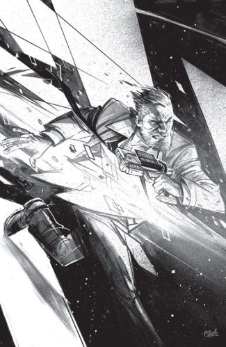 Roche Limit #1 (Black & White Phantom Variant Micro Print )