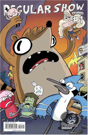 Regular Show #1 Phantom Variant