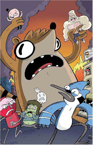 Regular Show #1 Jetpack Exclusive VIRGIN Variant