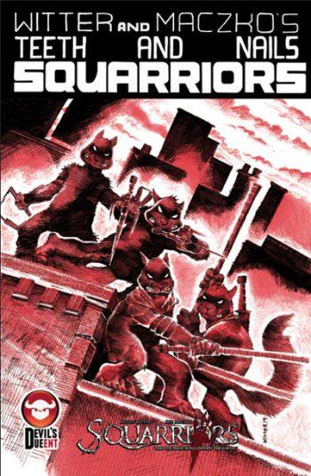 Squarriors #1 (TMNT Tribute Edition)